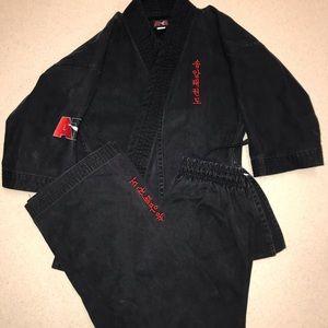 ATA Uniform Black Size 1